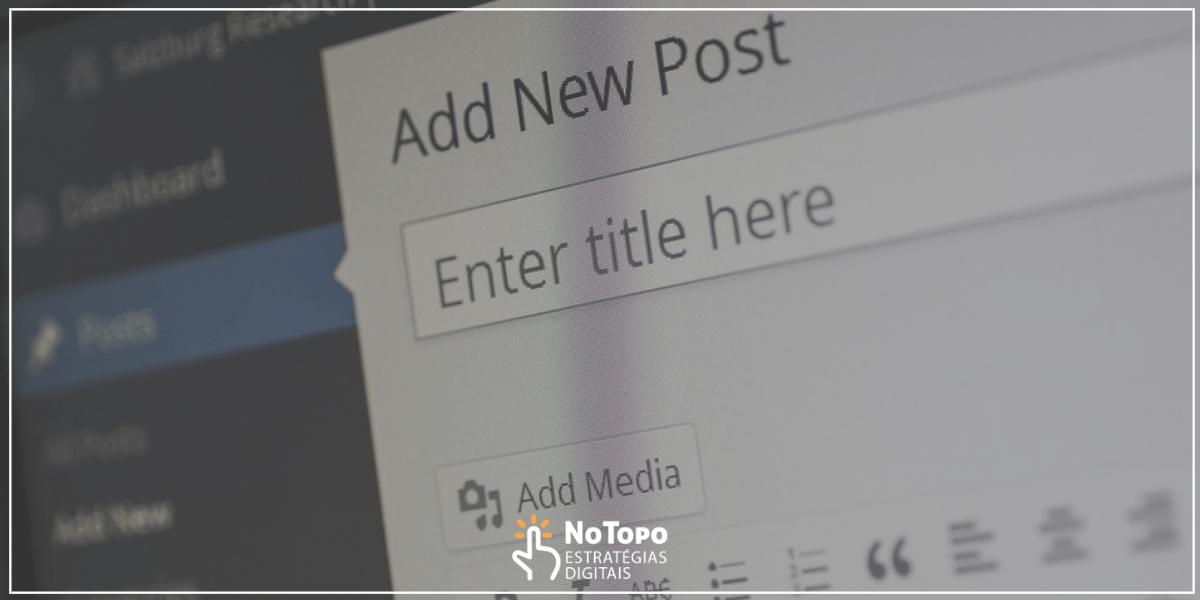 criar conteúdo relevante para Blog