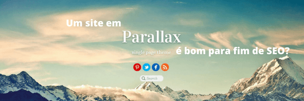 Parallax Site SEO